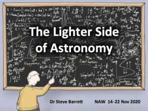 The Lighter Side of Astronomy